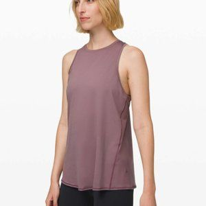 Lululemon All Tied Up Tank Frosted Mulberry NWT 4